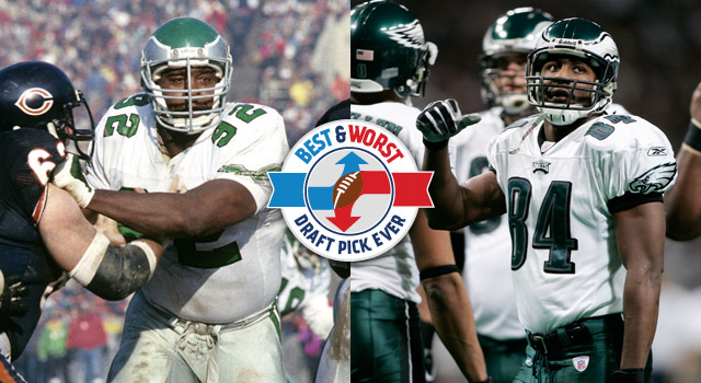 Philadelphia eagles best and worst draft picks nfl in the days leading up to the 2013 nfl draft nfl will allow users to determine the best and worst draft picks for every team the series continues with sciox Gallery