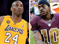 Kobe Bryant's injury: RG3 among NFL stars reacting on Twitter