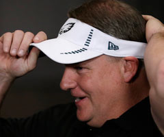 Chip Kelly was courted by a number of NFL teams before settling on the Philadelphia Eagles.