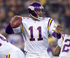 Daunte Culpepper's versatility made him a true fantasy standout with the Vikings.