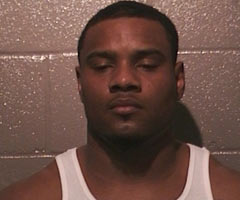 Detroit Lions linebacker Ronnell Lewis was arrested on three misdemeanor charges Saturday morning. (Norman police department)