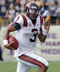Virginia Tech's Logan Thomas is a gifted physical specimen, but he's still raw as a quarterback.