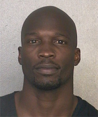 Former NFL receiver Chad Johnson turned himself in to Florida authorities Monday after a warrant was issued for his arrest on an alleged probation violation. (Broward Sheriff's Office)