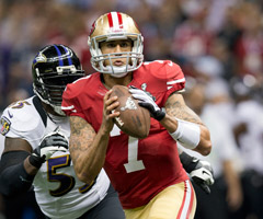 With Michael Crabtree expected to miss most of the season, Colin Kaepernick lost his top target.