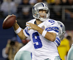 Tony Romo has finished eighth or better in fantasy points at quarterback three times since 2009.