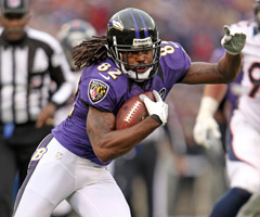 A third-year wideout, Torrey Smith will be asked to do more with Anquan Boldin no longer in the Ravens offense.