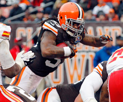 Trent Richardson?s stock is on the rise with new coordinator Norv Turner calling the offensive shots in Cleveland.