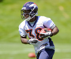 The favorite to start for the Denver Broncos, Montee Ball has all kinds of fantasy potential this year.