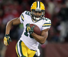 Randall Cobb should post his best single-season numbers now that Greg Jennings is out of the mix.