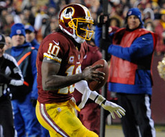 Good quarterbacks like Robert Griffin III could still be available in the middle rounds in a lot of 2013 drafts.