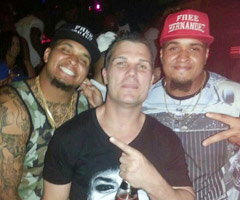 Maurkice and Mike Pouncey recently were photographed wearing