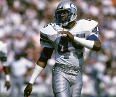 Kenny Easley's dominant span with the Seattle Seahawks ended suddenly after a failed physical revealed a severely damaged kidney. (National Football League)