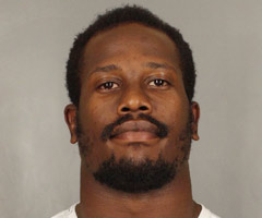 Arrest mugshot of Denver Broncos linebacker Von Miller, courtesy of the Arapahoe County Sheriff's Office.