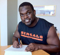 Geno Atkins has signed a five-year, $55 million extension with the Cincinnati Bengals.