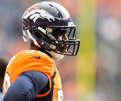 Denver Broncos linebacker Von Miller is one game into a six-game suspension the NFL gave him for violating its substance-abuse policy.