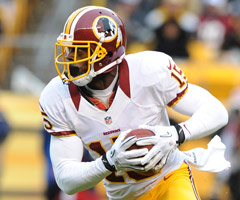 The mother of Redskins wide receiver Josh Morgan is safe after the Washington Navy Yard shooting on Sept. 16. (AP Photo/Don Wright)