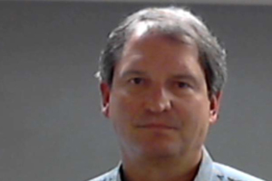 Booking photo of former Cleveland Browns quarterback Bernie Kosar. He was arrested Sunday on suspicion of drunken driving. (Courtesy of Solon Police Department)