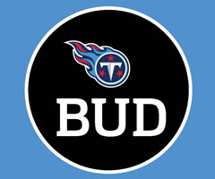 The patch that the Tennessee Titans will wear for the remainder of the season in memory of late owner Bud Adams (Credit: Tennessee Titans)