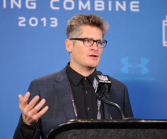 Falcons GM Thomas Dimitroff has seen the scouting game change a great deal throughout his professional career.