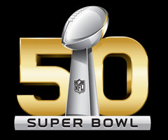 The NFL is taking a one-year break from using Roman numerals in the logo for Super Bowl 50.