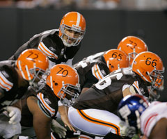 Time for the Browns to show some creativity with their head gear.