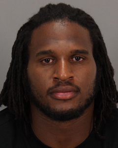 Niners defensive end Ray McDonald was arrested early Sunday morning on felony domestic violence charges. (San Jose Police Department)