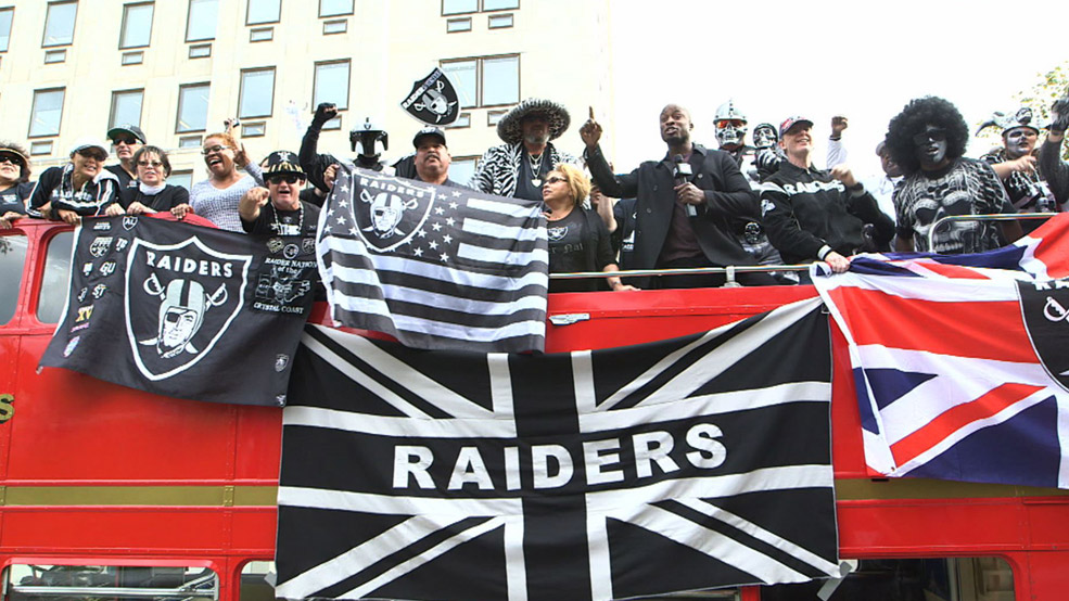 Raider Nation goes to London