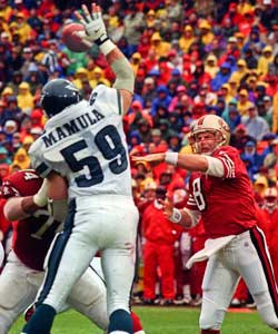 A monster combine performance helped Mike Mamula -- a projected second- or third-round pick -- become the seventh overall selection in the 1995 NFL Draft.