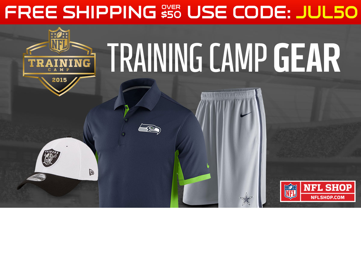 Training camp gear is here