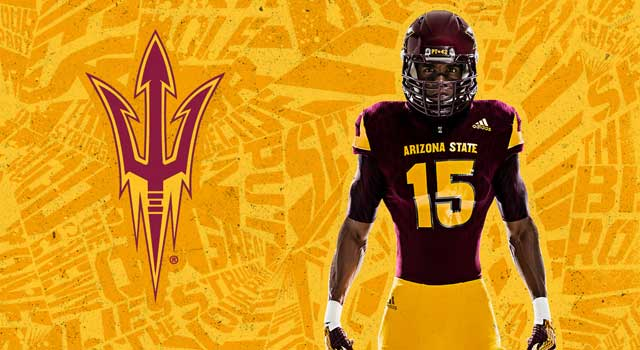 Adidas unveils new Arizona State uniforms  7ec76ba6e