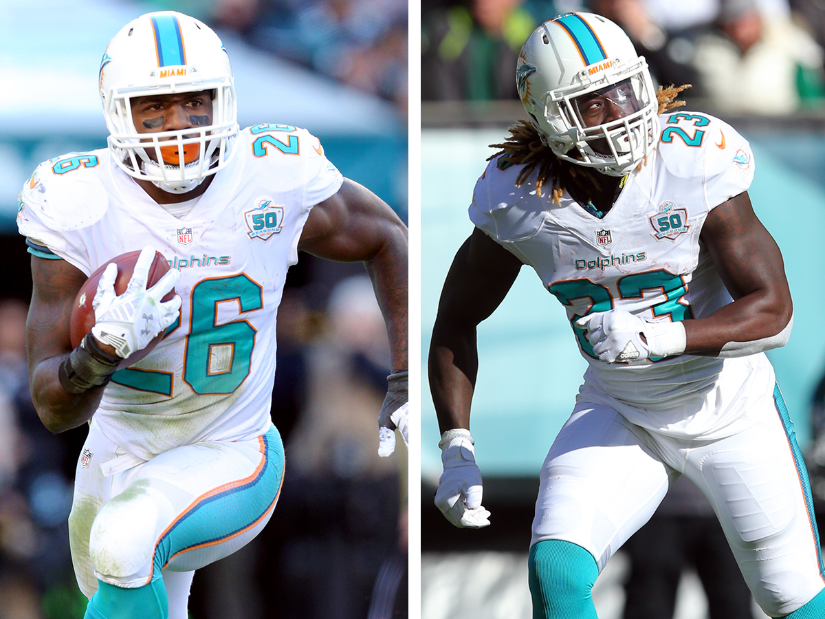 Lamar Miller still on top with Jay Ajayi's role growing
