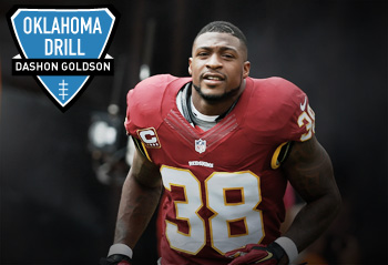 Dashon Goldson on the perfect hit, QB controversies and being traded