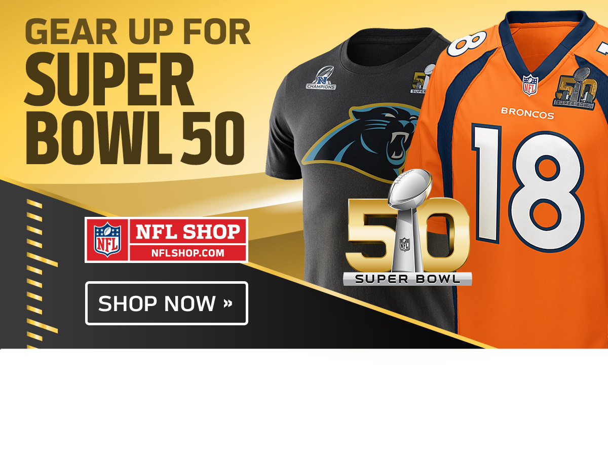 Panthers-Broncos Super Bowl gear