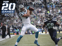 Top 20 Games of 2015  No. 2 -- Panthers at Seahawks - NFL.com 9f8e9f7cd
