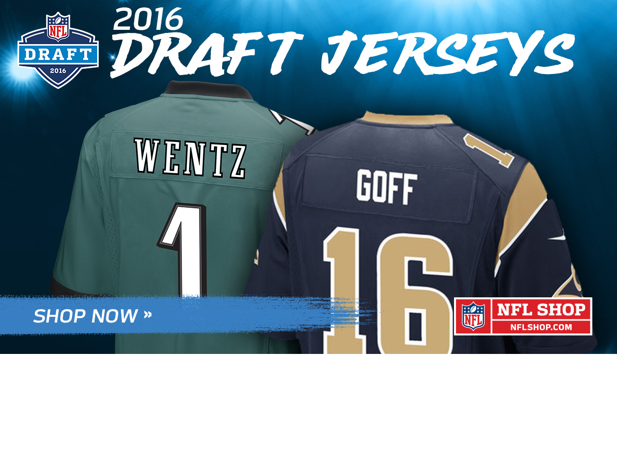 NFL Shop: Draft Jerseys