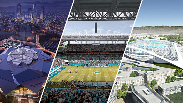 Super Bowl cities awarded