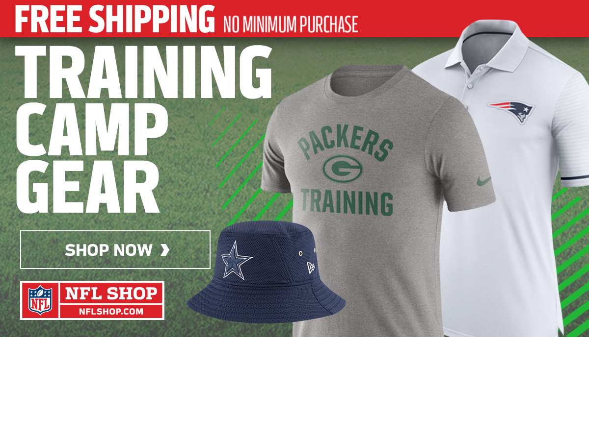 Training Camp Gear and Free Shipping