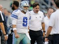 Image: Romo exits early