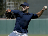 Image: Tebow on the diamond