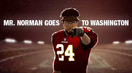 As the NFL's highest-paid corner, Josh Norman's current reality is a far cry from where he started. And as the All-Pro tells it, he's never going back.