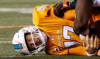 Tannehill in trouble