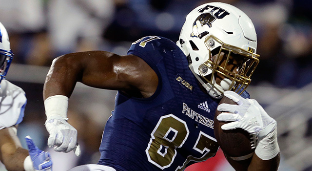 FIU football player burned after girlfriend douses him with boiling water