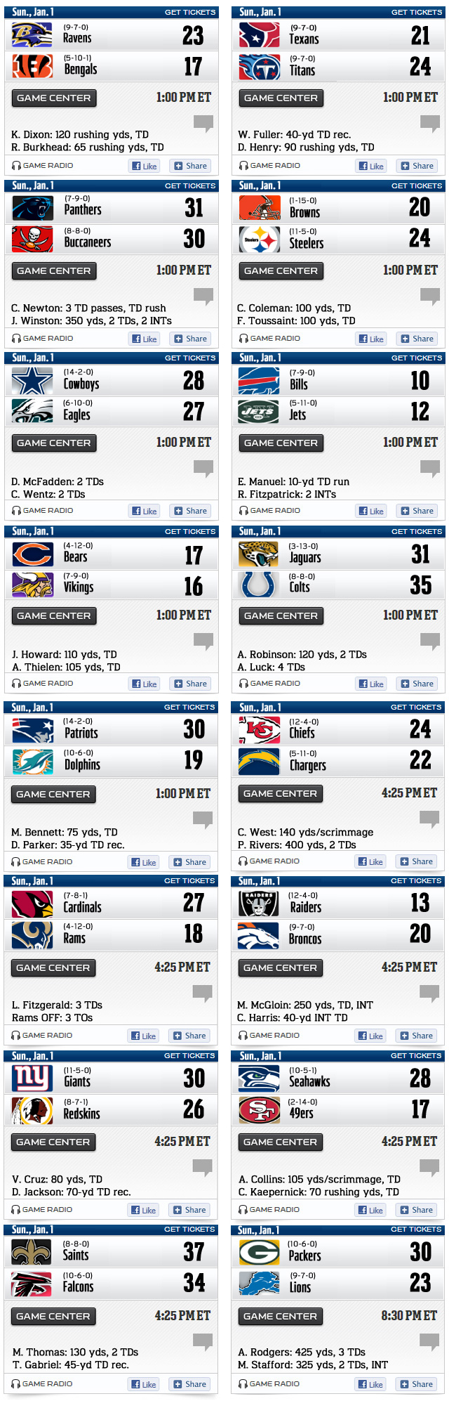 It's just a graphic of Peaceful Nfl Week 17 Schedule Printable