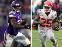 the trends that will impact ap Gregg rosenthal says veteran rbs like adrian peterson and jamaal charles could be disappointed in free agency because of this year's talented rookie class what other trends will impact the market.