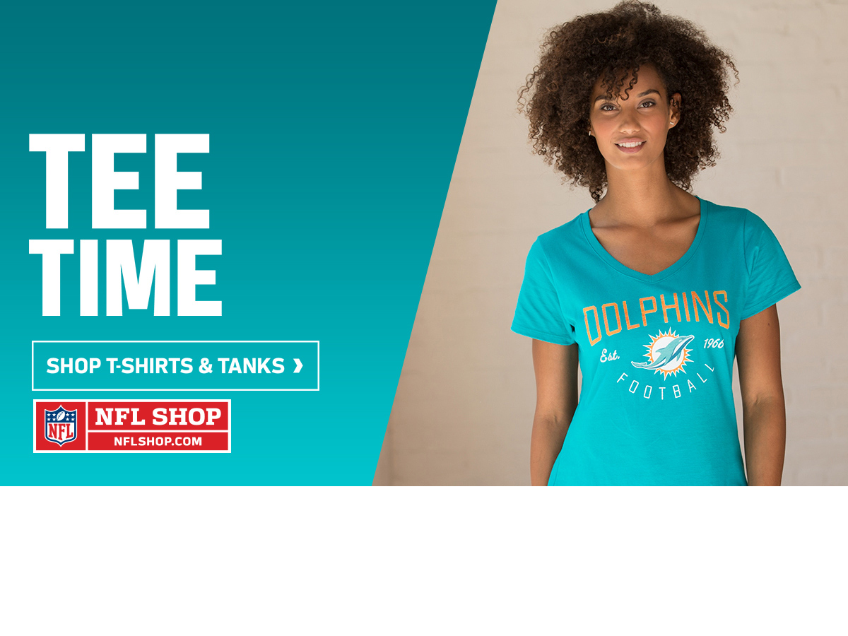Tee Time! Spring arrivals at NFL Shop