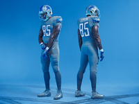 detroit lions unveil uniforms very similar curre