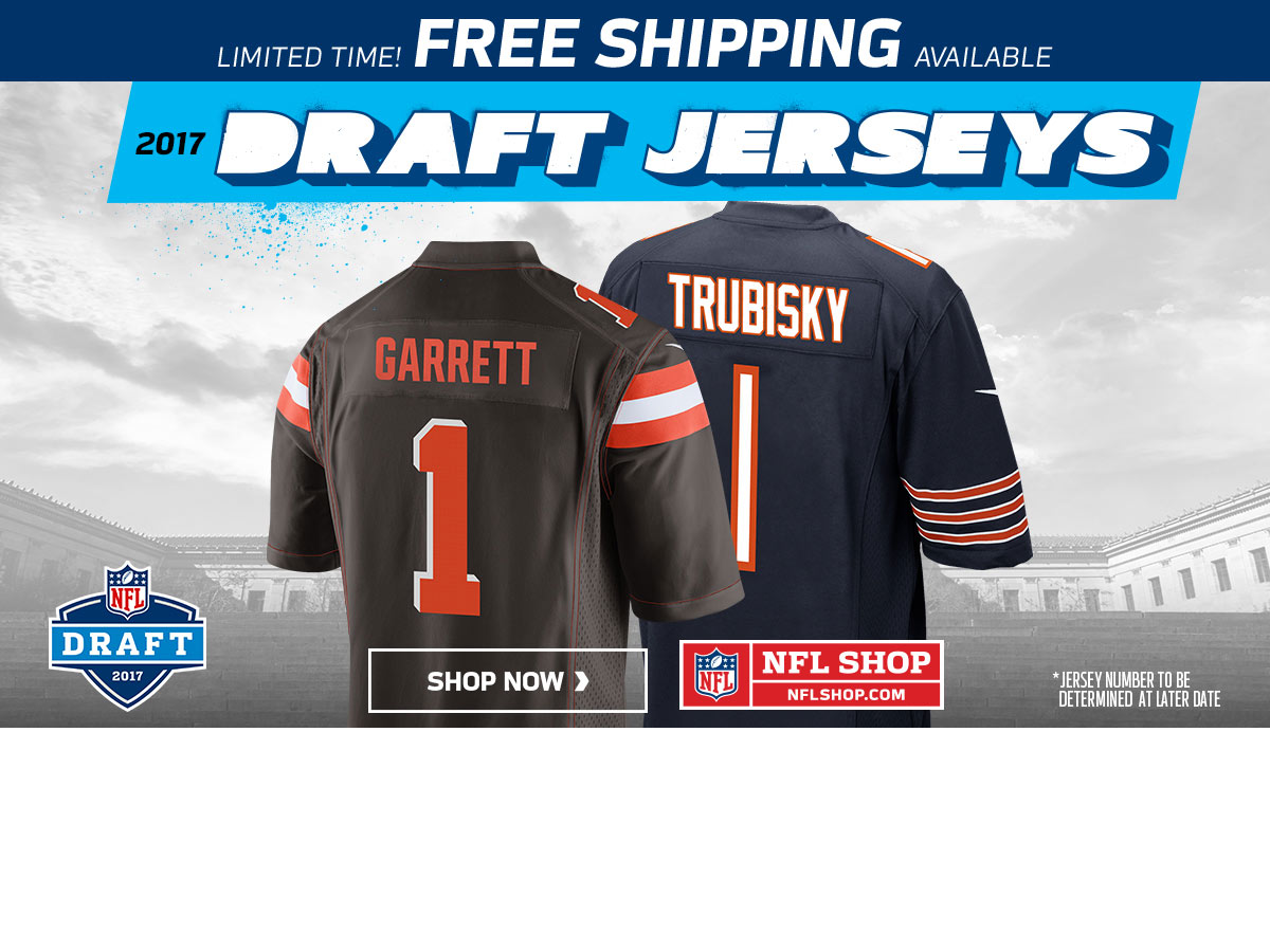 Draft jerseys