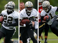 Saints RBs equal team's MVP; domino effect of Derek Carr's deal