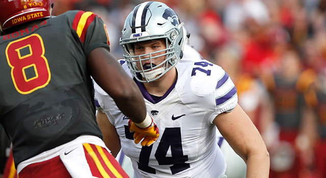 Kansas State OL Scott Frantz announces that he is gay