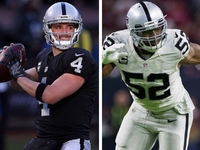 Derek Carr again predicts 30 sacks for Khalil Mack